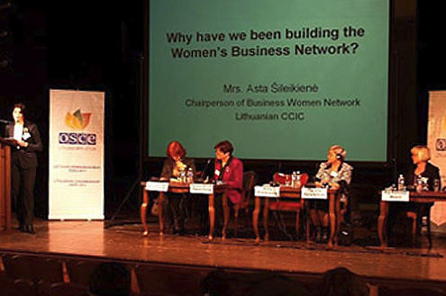 OSZE-Konferenz 2011: Women's Entrepreneurship in the OSCE Region - Trends and Good Practices